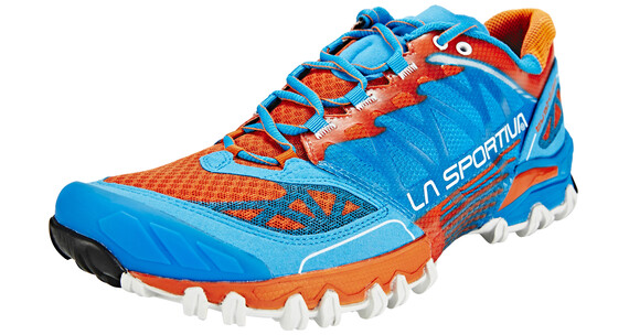 La Sportiva Bushido Trailrunning Shoes Men blue/flame